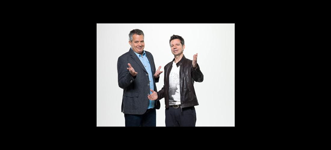 SWR3 Comedy live mit Zeus und Wirbitzk am 4. Februar 2017 in der Melchiorhalle Neckartenzlingen